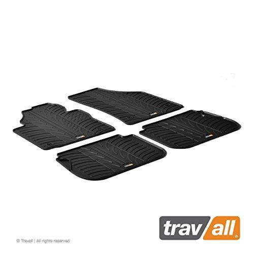 Travall® Mats Gummifußmatten - Original Travall® Zubehör TRM1023 – Allwettermatten nach Maß