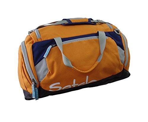 Ergobag Satch borsone sport accessori borsa 50 cm - misura unica, 13 sizzler Arancione (Orange Blue)