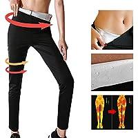 YILVV Womens-Pantalones para Adelgazar Hot Thermo Neopreno Sauna Body Shapers Pantalones (M)
