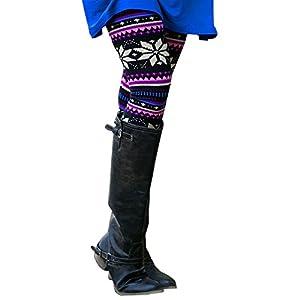 Likecrazy Damen Mode hosen Skinny Geometric Drucken Elegant Freizeit Stretch Outdoor Yoga Pants Mädchen Frauen Hohe Taille Sport Gym Jogginghose mit Stiefel