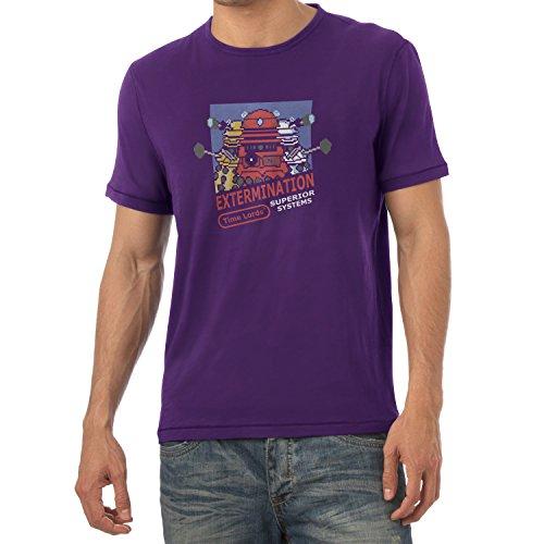 TEXLAB - Extermination 8 Bit System - Herren T-Shirt, Größe M, ()