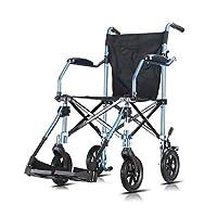 Wheelchair Ultra light folding wheelchair Light old man wheelchair Portable wheelchair Manual travel trolley
