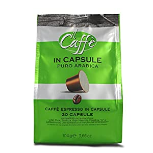 Caffè Corsini Caps Nespresso Arabica - 15 confezioni da 20 capsule - Totale 300 Capsule
