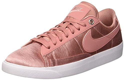 Rosa Nike Blazer (Nike Damen W Blazer Low Se Gymnastikschuhe, Rust Pink/White 600, 37.5 EU)