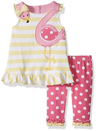 Nannette Leggings Set 2er Set 12m für Baby Mädchen 18 Monate Sonnenschein-Gelb Nannette Baby Set