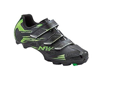 NORTHWAVE SCORPIUS 2 Mountainbike Schuhe black-green fluo, Größe:Gr. 47