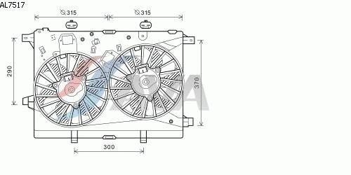 AVA Cooling SISTEMA Compressore per aria condizionata, al7517