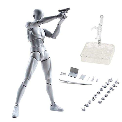 Kun Puppe Männlich Weiblich DX Set PVC Movebale Action Figure Modell Für SHF Geschenke (X Männer Weibliche Charaktere)