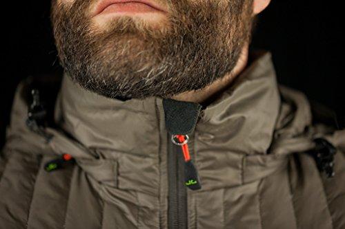 Jeff Green Herren Leichte 750 Cuin Daunenjacke Alex Inklusive Transportbeutel, Größe - Herren:48, Farbe:Black - 7