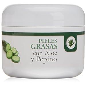 Bionatural 11510 – Cremigel para pieles grasas con aloe y pepino, 100 ml