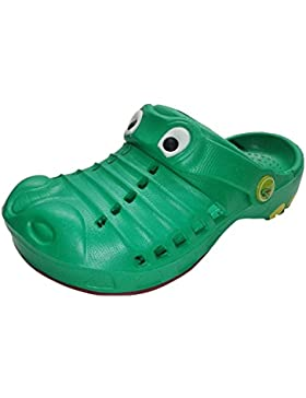 Indigo Krokodil Clogs