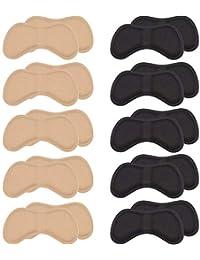 Mudder Autocollants à Talons Plaquettes à Talon Coussinets à Talons Chaussures pour Ajustement et Confort Améliorés