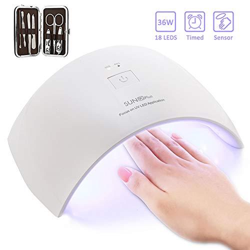Lámpara de Uñas UV 36W