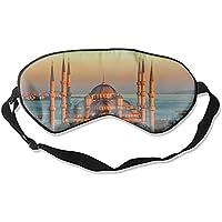 Sultan Ahmed Moschee Türkei Istanbul Sonnenaufgang Schlafmaske Augenmaske für Schlafen Konturierte Augenmaske... preisvergleich bei billige-tabletten.eu