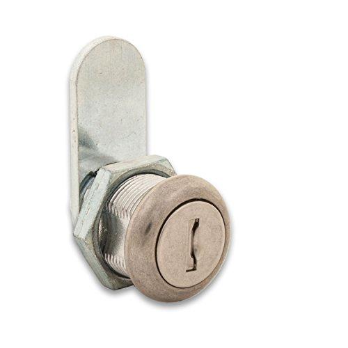 FJM–Sicherheit mei-3499as-ka Staub Shutter Cam Lock mit 5/8Zylinder und Chrom Finish, gleichschliessend von FJM–Sicherheit