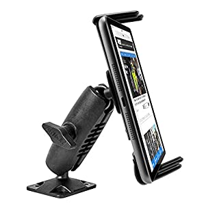 Arkon Heavy Duty Drill Base Mount for Note 5 Galaxy Tab 7.0 8.0 iPhone 7 6S 6 Plus iPad mini Retail Black