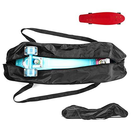 Grist CC Skateboard Rucksack mit Tasche und Skateboardschutz 83 * 25 cm / 32 * 10 Zoll für Pennyboard (Tasche Skateboard Penny)