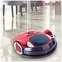 Omnidomo-KomoBot-Robot Aspirador Inteligente, 25 W, Batería de Alta Capacidad,