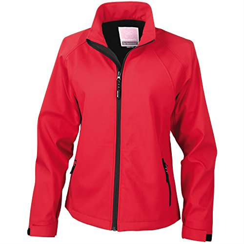 Ergebnis der Frau, Softshell-Jacke Rot - Rot