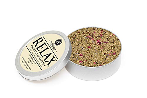 Herbal Tobacco, Le Classique Herbal Smoke Blend (QUIT) 100% Nikotin Free, Can be Smoked Vape Gold Pipes 35 g