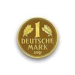 DEUTSCHLAND / GERMANY / ALLEMANGNE 1 DM GOLDDM GEDENKMÜNZE