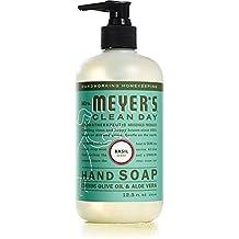 Mrs. Meyer's Clean Day Flüssige Handseife Basilikum - 370 ml