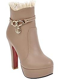 Amazon.it  scarpe bianche eleganti donna - 34   Mary Jane basse ... 4a0795a86b2