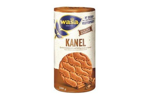 WASA rundes Knäckebrot mit Zimt - härlig smak av Kanel, 330g