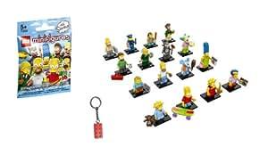 Lego 71005 Simpsons Figuren Komplettsatz 16 Stück + gratis Schlüsselanhänger