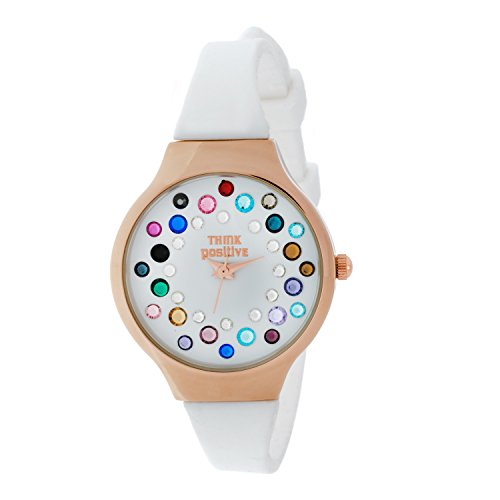 ladies-think-positiver-model-se-w89-small-rose-strap-of-silicone-color-fantasy-white