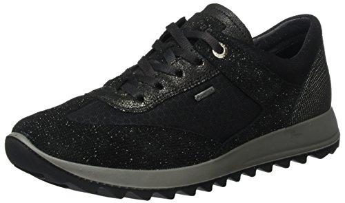 Legero Damen Amato Sneaker, Schwarz (Schwarz), 39 EU (6 UK) -