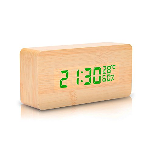 wooden-led-digital-alarm-clock-displays-time-date-humidity-and-temperature-sound-control-desk-alarm-