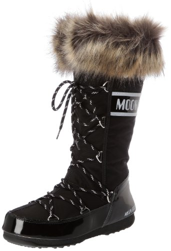 Moon Boot W.E. Monaco Scarpe sportive outdoor, Donna, Nero, 37
