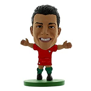 SoccerStarz Juego de Figuras de fútbol de Portugal Cristiano Ronaldo (5 cm)