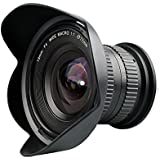 Lightdow 15mm F/4 1:1 Macro + Wide Angle FF(Full-Frame) Prime Lens For Canon Nikon Digital SLR DSLR Cameras (for Nikon F)