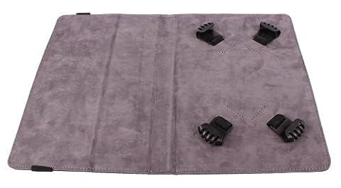 Universelle Schutzhülle mit Stand für 7- und 8-Zoll-Tablets und eReader (schwarz/grau)