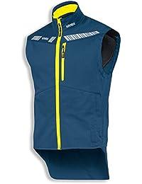 uvex Safety metal 8942 Leichte Arbeitsweste, 88% Baumwolle, Sicherheitsweste für Herren und Damen, auch als Freizeitweste verwendbar, mit Reflektoren, Grau-Orange, Größe M