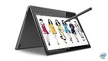 "Lenovo YOGA 73013IKB Ultrabook Tactile Convertible 13,3"" Full HD Gris (Intel Core i5, 8 Go de RAM, SSD 256 Go,Windows 10) + Stylet [Ancien Modèle]"