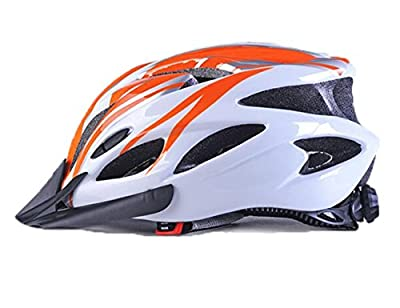 11X Colours Cycle Helmet,Adults Men and Women Sport Bike Helmet for Road & Mountain Biking,Lightweight Helmet with Removable Visor and Liner Adjustable Thrasher. by Meili Sports