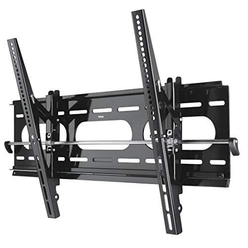 Hama TV-Wandhalterung TILT XL (neigbar, Bildschirmdiagonale 94 - 160 cm (37 - 63 Zoll), Traglast 75 kg, VESA 800 x 400) schwarz