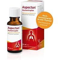 Aspecton Hustentropfen mit Thymiankraut Spar-Set 3x50ml: pflanzlicher Hustenlöser; expektorierend, bronchospasmolytisch... preisvergleich bei billige-tabletten.eu