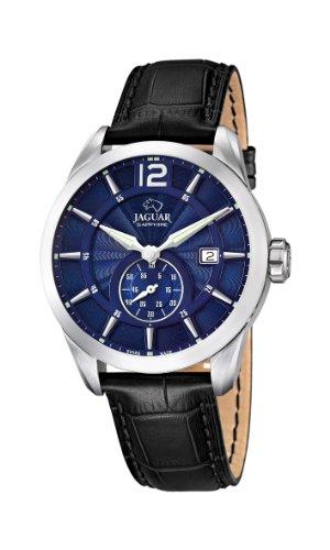 Jaguar Watches - J663/2 - Montre Homme - Quartz Analogique - Bracelet Cuir Noir