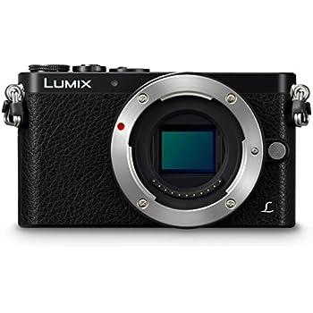 Panasonic Lumix DMC-GM1 Appareil photo numérique Hybride 16 mégapixels, 7,6 cm Boîtier Nu, Noir (Importer Europe)