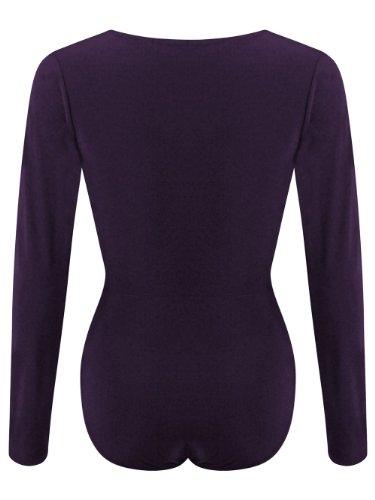 Karma ClothingDamen Body Violett - Violett