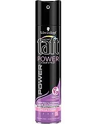 Schwarzkopf 3 Wetter taft Haarspray Power Cashmere Touch, Spray ohne zu Beschweren & Verkleben für Schutz & Pflege, mega starker Halt 5 (3 x 250 ml)