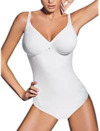 Lady Bella Lingerie Classic Lady PA0194 Body íntimo Femenino Reductor y Moldeador sin aro Copa C preformada en Microfibra para Tallas Grandes