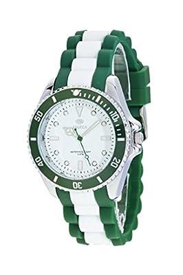 Reloj Marea Hombre B41160/6 Goma Blanco y Verde