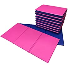 NEW 10x Triple Folding Nursery Sleep Mats Blue/Pink for Children & Toddlers