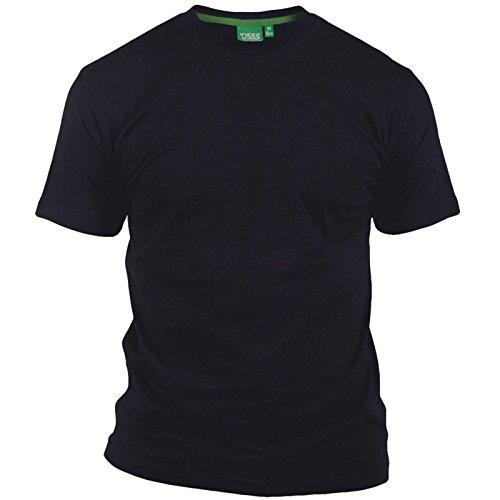 Duke Camiseta de Manga Corta y Cuello EN Pico EN Talla Grande Modelo Flyers-1' Para Hombre (7XL/Azul Marino)