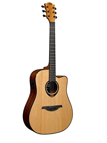 Guitarras Électro acústicas Lag t80dce Tramontana Dreadnought Cutaway Folk Dance